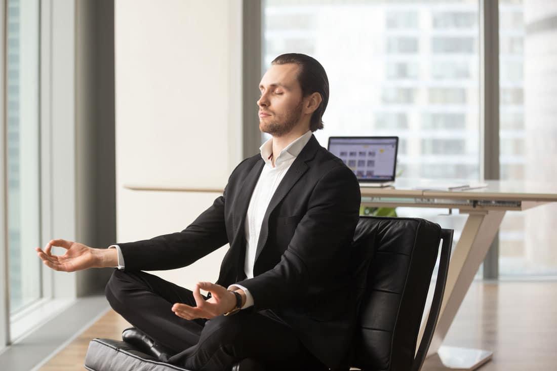 Opustanje na poslu - meditacija