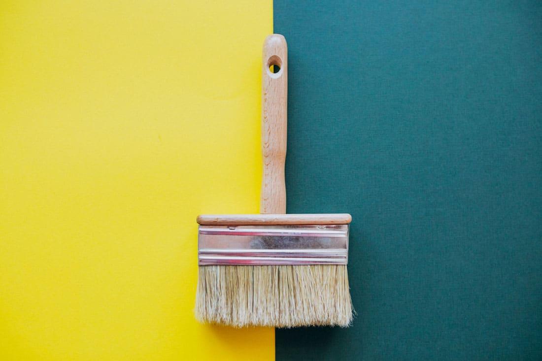 Zuta i zelena boja zida - koju izabrati
